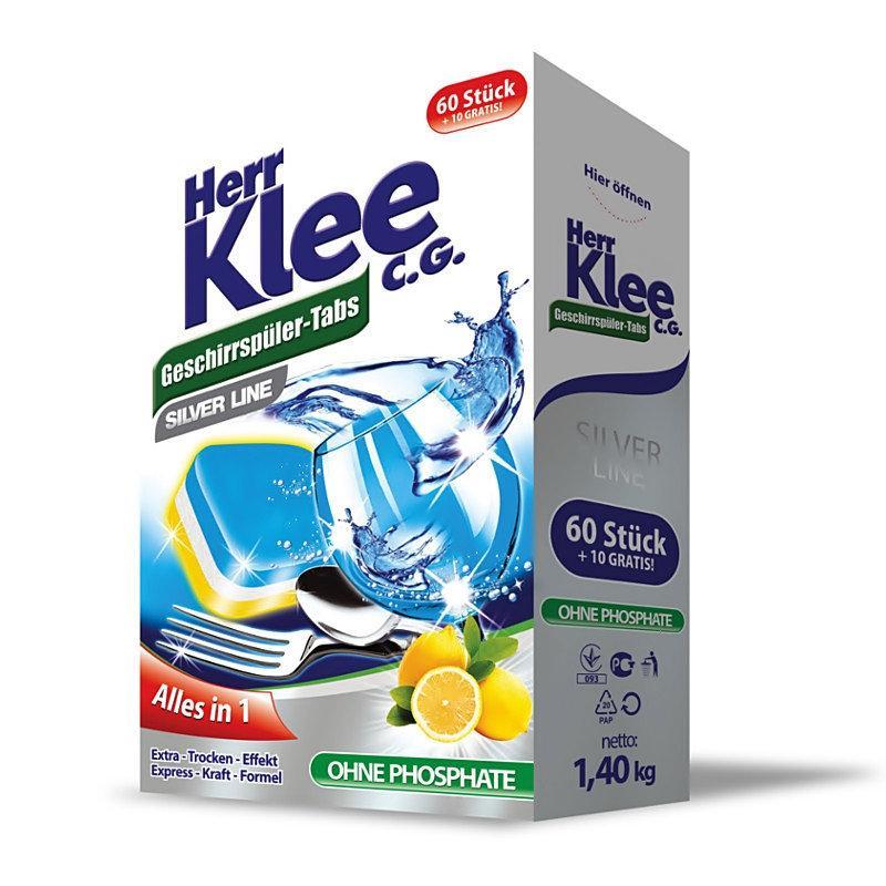 КLEE таблетки 70шт для посудомийних машин