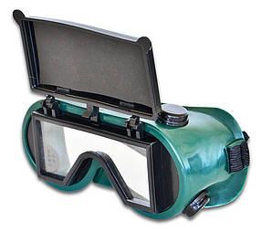 Очки сварочные Technics с прямоугольным стеклом (16-530)