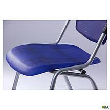 Стул Рольф алюм пластик синий TM AMF, фото 2
