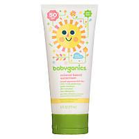 Детский солнцезащитный крем 50+ SPF Sunscreen от BabyGanics