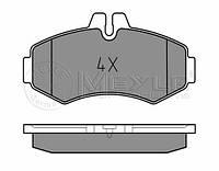 Meyle 025 230 2220 Колодки тормозные передние MB Vito 638