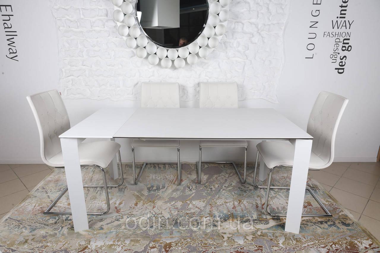 Стіл Бристоль Nicolas розкладний білий кераміка