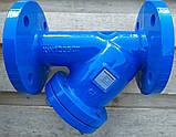 """Фильтр осадочный фланцевый тип """"У"""" IBP VALVES (Великобритания) DN50 PN16 (ДУ50 РУ16), фото 2"""