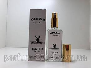 Тестер чоловіча туалетна вода з феромонами Remy Latour Cigar 65 мл ОАЕ (репліка)