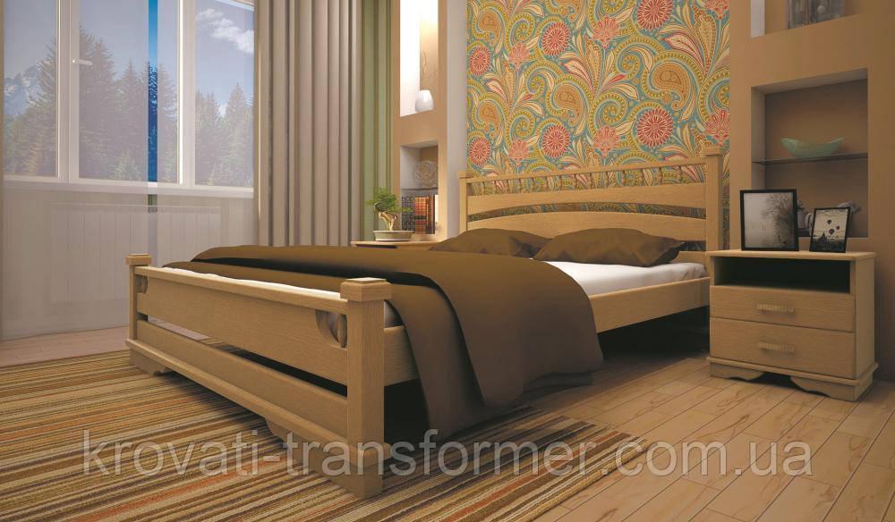 Кровать ТИС АТЛАНТ 1 120*190 сосна
