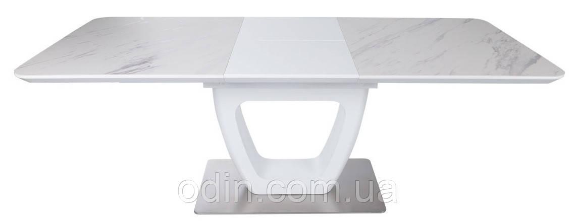 Стіл Торонто Nicolas розкладний білий мат кераміка