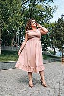 """Платье больших размеров """" Софт """" Dress Code, фото 1"""