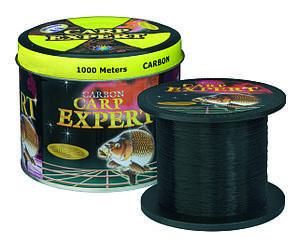 Рибальська волосінь 1000 метрів Carp Expert чорна 0.25 мм, 8.9 кг оригінал