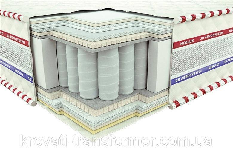 Ортопедический матрас 3D Магнат Зима-лето PS 180х200