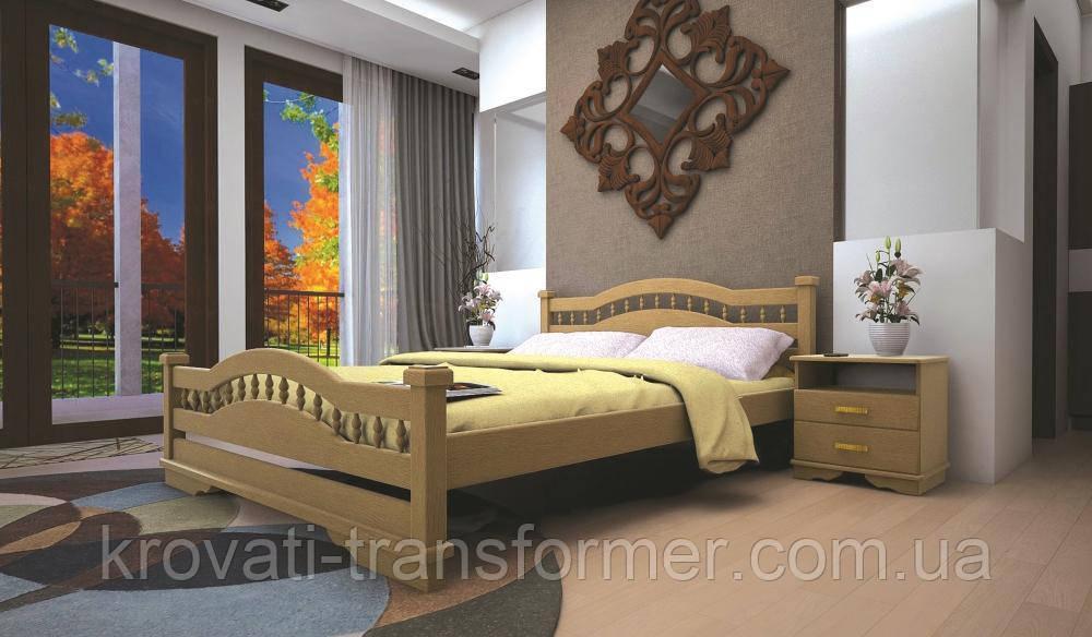 Кровать ТИС АТЛАНТ 7 140*200 сосна