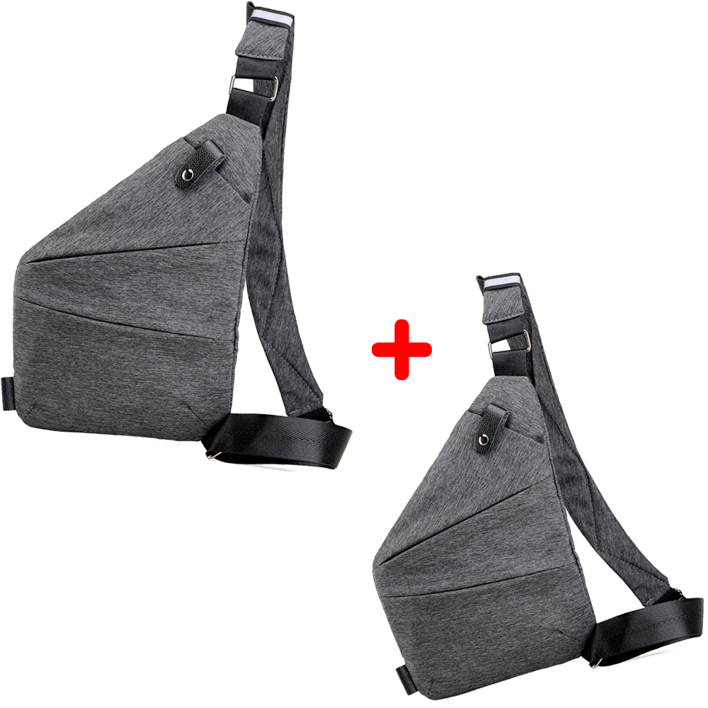 Набор сумок VOLRO Cross Body Grey 1+1 (vol-134)