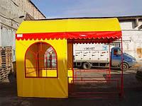 Изготовление прорезиненных ПВХ палаток