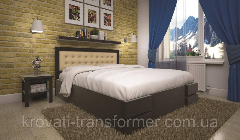 Кровать ТИС КАРМЕН 120*190 дуб