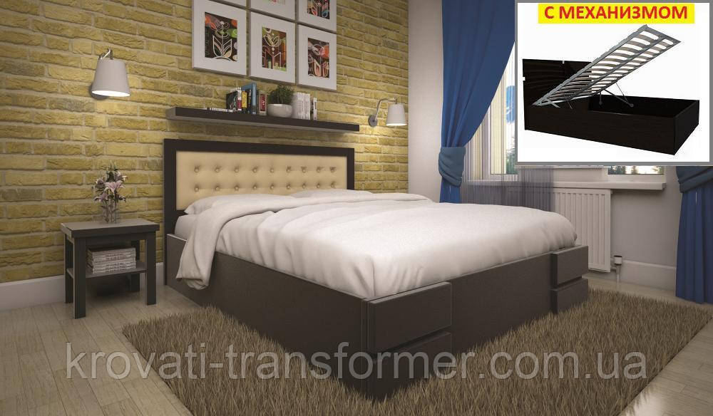 Кровать ТИС КАРМЕН (ПМ) 140*190 сосна
