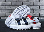 Мужские сандалии Fila (белые) - Унисекс, фото 3