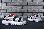 Мужские сандалии Fila (белые) - Унисекс, фото 6