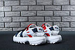 Мужские сандалии Fila (белые) - Унисекс, фото 7