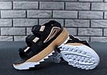 Женские сандалии Fila (черные) , фото 3