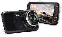 """Видеорегистратор DVR T652 4"""" Full HD + Выносной Камерой Заднего Вида, фото 1"""