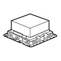Коробка монтажна пластикова для підлогових люків 24/16 модулів Mosaic, DLP Legrand (089632)