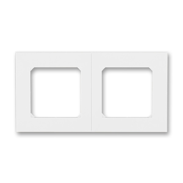 Рамка 2 постова, білий/білий 3901H-A05020 03, Levit Elektro-Praga ABB
