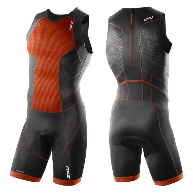 Мужской костюм для триатлона Perform Rear Zip Trisuit 2XU 3860d, Австралия.