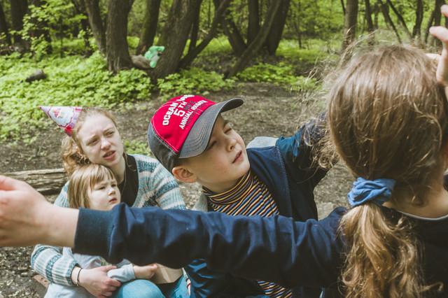 фото квест для детей в лесу