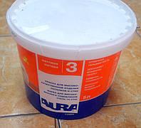 Краска для высококачественной отделки потолков и стен Luxpro 3 Aura Eskaro 5 л