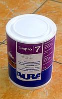 Краска для высококачественной отделки потолков и стен Luxpro 7 Aura Eskaro 1 л