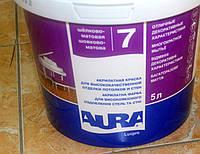 Краска для высококачественной отделки потолков и стен Luxpro 7 Aura Eskaro 5 л