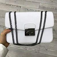Кожаная сумка Италия Люкс качество TS000026 , Сумка италия vera pelle кожа Белый