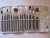 Набор кистей для макияжа Parisa 15 единиц