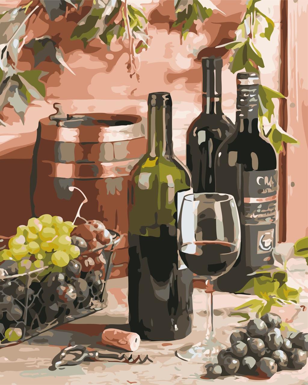 Вино для гурмана, 40х50 см в коробке «ArtStory» (AS0643)