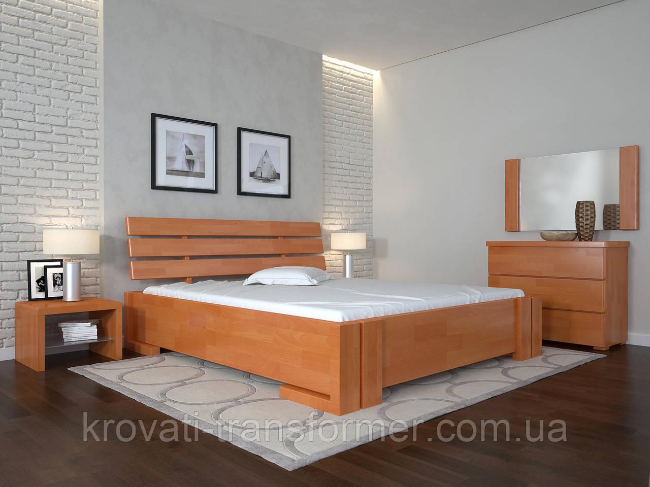 Кровать Arbordrev Домино без ПМ (140*200) сосна