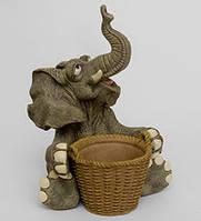 "Садовое кашпо ""Слон"" (Sealmark) GG-5331-LE"