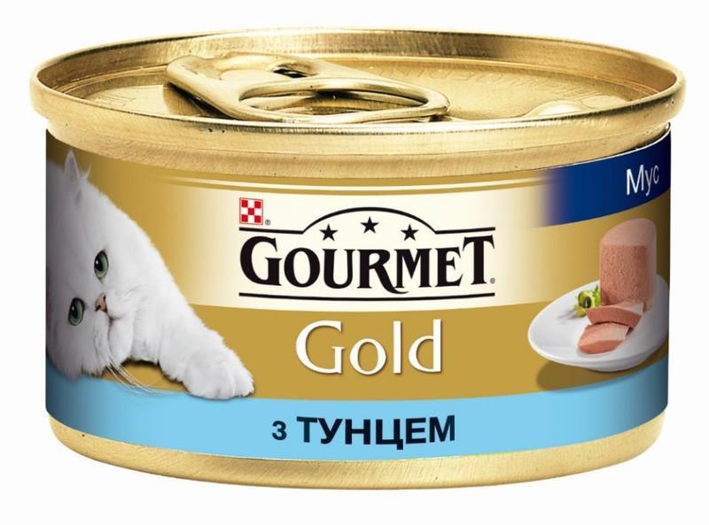 Gourmet Gold (Гурмет Голд) паштет с тунцом 85 г x 12 шт