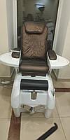 СПА педикюрное кресло с гидромассажной ванночкой ZD-905 для педикюра, для маникюра + массаж спины