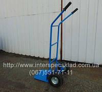 2х колесная тележка железная профессиональная ТД-3 200кг на пневматических колесах