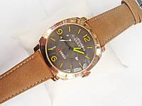 Мужские кварцевые наручные часы Curren Leisure Series, Gold, фото 1