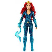 Яркая кукла Мера Аквамен Барби 30см Aquaman Movie Mera Barbie Doll оригинал Mattel аквамэн