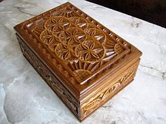 Шкатулка подарочная резная, фото 3