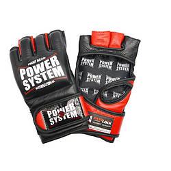 Перчатки для MMA PowerSystem PS-5010 KATAME EVO Red, S/M