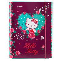 Папка для труда Kite Hello Kitty  HK19-213  A4 на резинке
