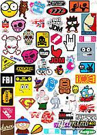 Наклейки Sticker Bomb ST002-3042