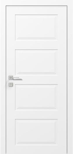 Двери Родос Cortes Dolce белый мат
