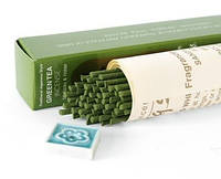 Благовония Green tea - Зеленый чай 11117 Morning Star Nippon Kodo + подставочка