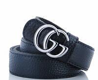 Женский кожаный ремень K1014 black