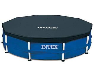 Тент для каркасного бассейна INTEX, диаметр 457 см