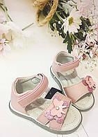 Детские   босоножки, сандалии Clibee  Apawwa для девочки,размеры 20-21-22-23 (перламутровые/розовые), фото 1