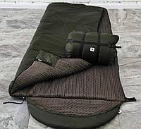 Спальный мешок зимний (-15/+15), спальник тактический армейский для похода весна и осень
